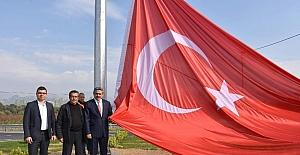 Türk Bayrağını göndere, Alıcık çekti