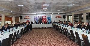 Türk Büro-Sen istişare toplantısını Adıyaman'da gerçekleştirdi