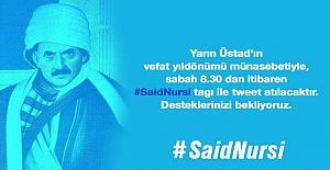 Twitter'da Said Nursi etkinliği düzenleniyor