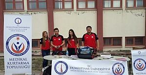 Üniversite öğrencilerinden medikal kurtarma topluğu kuruldu