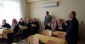 Vali Dağlı, Hamidiye Kur'an kursunu gezdi