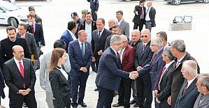 Vali Pekmez Sarıyahşi ilçesini ziyaret etti