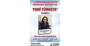 Zeynep Karahan Uslu Cumhurbaşkanlığı Hükumet Sistemini anlatacak