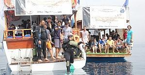 11. Uluslararası Kemer Paris 2 Batığı dalış etkinliği