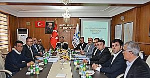 1.OSB Yönetim Kurulu Toplantısı Vali Toprak'ın başkanlığında yapıldı