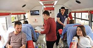 ADÜ Kızılay Topluluğu'ndan kan bağışı kampanyası
