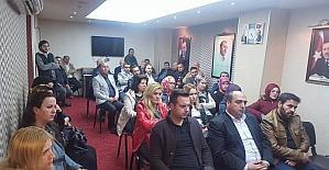 AK Parti Bilecik İl ve Merkez İlçe yöneticileri referandum sonrası ilk kez toplandı