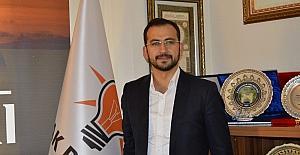 AK Parti İl Başkanı Tanrıver Miraç kandilini kutladı