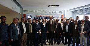 AK Parti'den Memur-Sen'e teşekkür ziyareti