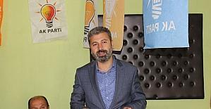AK Parti'den Tut ilçesine teşekkür ziyareti