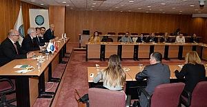 Avrupalı parlamenterlerden Uludağ Üniversitesi'ne ziyaret