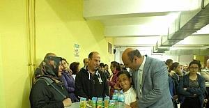 Ayvalık Mehmet Akif Ersoy Ortaokulu'ndan gurur çayı