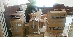 Bakliyat altına gizlenmiş 12 bin paket kaçak sigara ele geçirildi