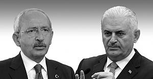 Başbakan ve Kılıçdaroğlu 'yetki' tartışması