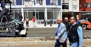 Başkan Albayrak Süleymanpaşa ve Çorlu ilçelerinde incelemelerde bulundu