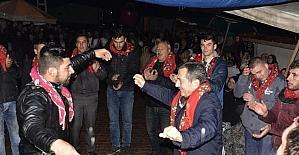 Başkan Ataç, kınalı kuzuları askere uğurladı