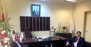 Başkan Dişli'den, Başhekimlere ziyaret