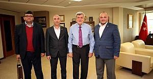 Başkan Karaosmanoğlu, Sağlık-Sen Kocaeli Şubesini ağırladı