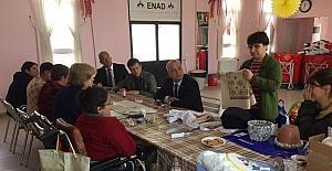 Başkan Kayda, ENAD üyeleri ile buluştu