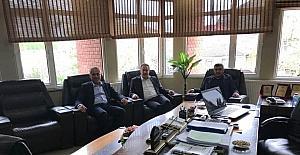 Başkan Yaman'a ziyaret