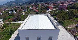 Başkarcı'daki düğün salonu ve pazaryeri inşaatının yapımı tamamlandı