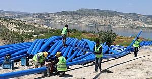 Birecik'in su problemi çözüme kavuşturuluyor