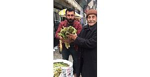 Bitlis'te uçkun tezgahlarda yerini almaya başladı