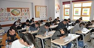Bozüyük'te TEOG ilk gün sınavları tamamlandı
