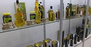 Burhaniye zeytinyağları İzmir'de tanıtıldı