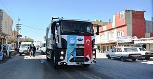 Ceylanpınar Belediyesi araç filosunu güçlendirdi