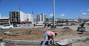 Cizre'de akıllı ulaşım ve kavşak çalışmaları devam ediyor