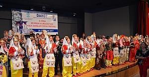 DAHOT 3. Halk Danslar Şenliği büyük ilgi gördü