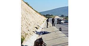 Didim'de trafik kazası; 1 ölü