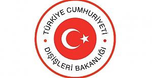 Dışişleri Bakanlığı, Yunanistan'da Türk bayrağının yakılmasını kınadı