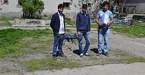 'Drone ile metal tarama cihazı' projesiyle final hakkı kazandılar