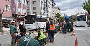 Edirne Belediyesi ıslah çalışmalarına devam ediyor