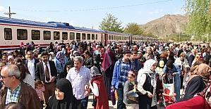 Elazığ'da trenle tarihe nostaljik yolculuk
