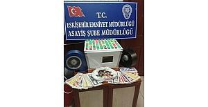 Eskişehir'de tombala baskınında 13 bin lira ceza
