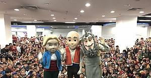 Forum Erzurum, 23 Nisan'ı çocukların unutamayacağı bir etkinlikle kutladı
