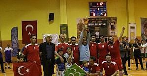 Futsalın şampiyonu Aliya İzzetbegoviç Lisesi oldu