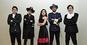 Gaziantep Kolej Vakfı Liseleri Zorro Müzikalini sahneleyecek