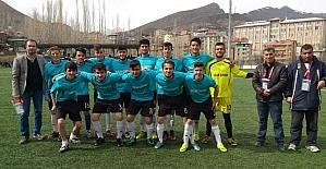 Hakkari'de şampiyonluk maçı