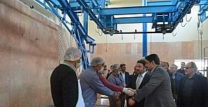 Hozat'ta tadilatı tamamlanan mezbahane açıldı