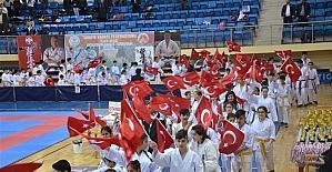 İller Arası Karate Şampiyonası seremonisi yapıldı