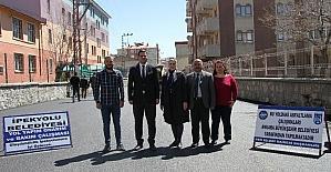 İpekyolu Belediyesi asfalt çalışmalarına başladı