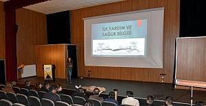 İpekyolu Belediyesi personeline ilkyardım eğitim