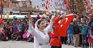 Kağızman'da 23 Nisan Coşkusu