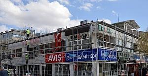 Kırşehir'de binalara dış cephe iyileştirme projesine başlanıldı