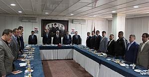Maden işçileri eğitim ve spor vakfı mütevelli heyeti toplantısı yapıldı