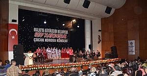 Malatya Büyükşehir Belediyesi Çocuk Korosundan 23 Nisan konseri